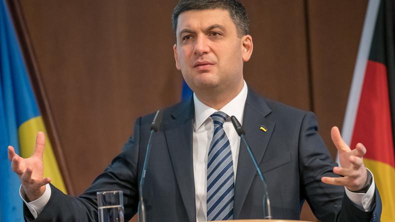 Ukrainischer Premier in Berlin: Stoppt Putin und investiert in die Ukraine