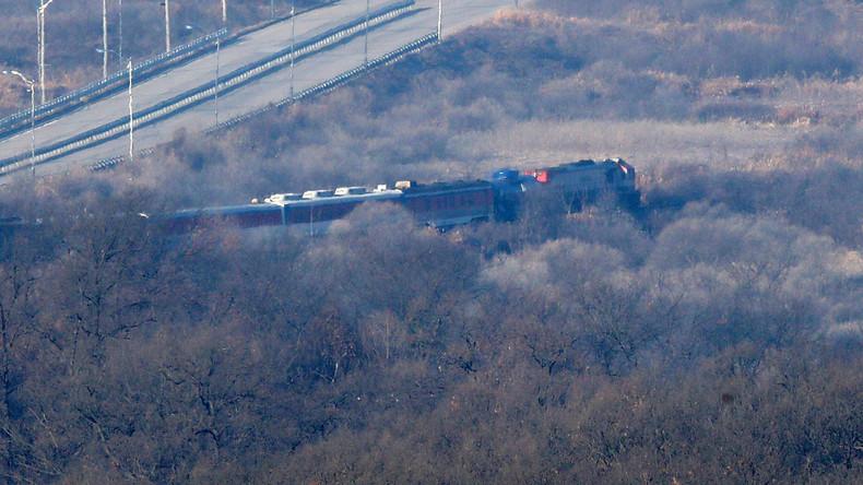 Neue Annäherung: Erstmalig rollt wieder ein Zug von Süd- nach Nordkorea