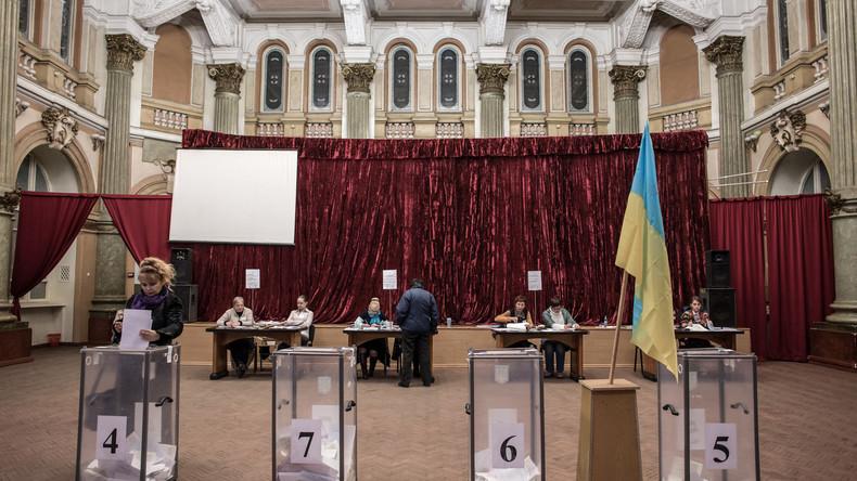 Bezirkswahlen in Ukraine wegen Kriegsrecht abgesagt
