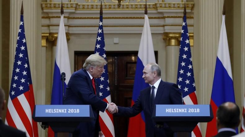 Sacharowa: Trump sagt Treffen mit Putin nicht wegen Ukraine, sondern aus innenpolitischen Gründen ab