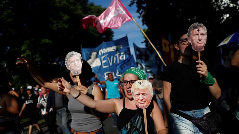 Bunte Proteste und trübe Aussichten auf Einigung beim G20-Gipfel