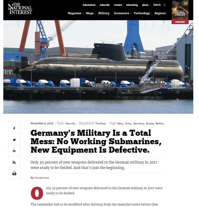 """Deutsches Militär ist """"völliger Murks"""" und McKinsey-Skandal weitet sich aus"""