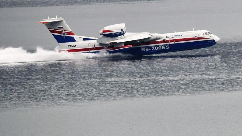Trotz Sanktionen: US-Unternehmen will Waldbrände mit russischen Feuerwehrflugzeugen bekämpfen