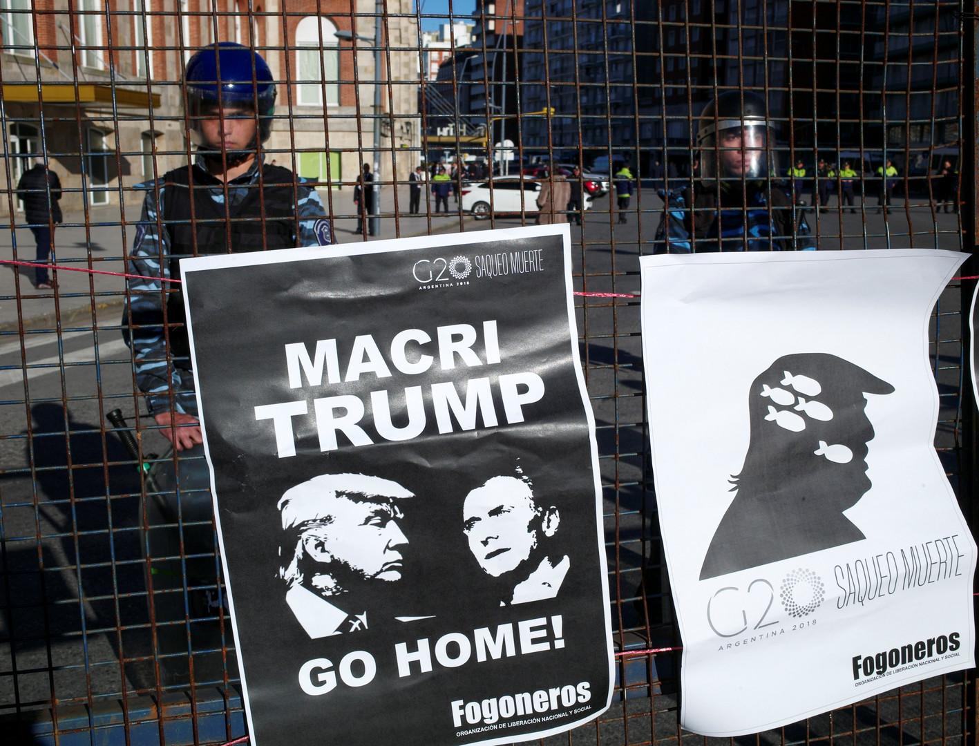 Militarisiertes G20-Gipfeltreffen in Argentinien: Uruguay als Plattform für Operationen der US-Armee