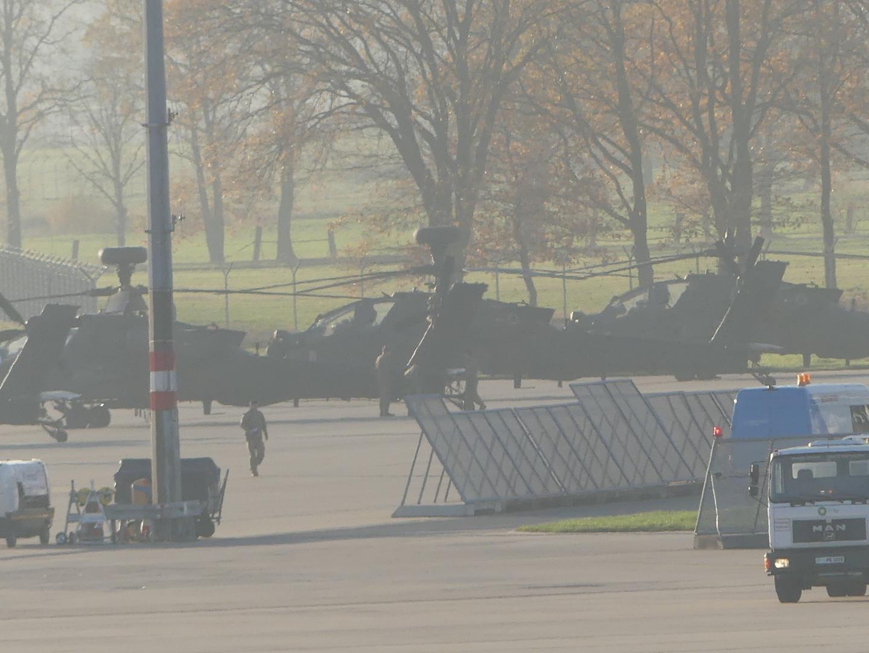 Einwohner besorgt: Was machen US-Kampfhubschrauber auf Zivilflughafen Hannover?