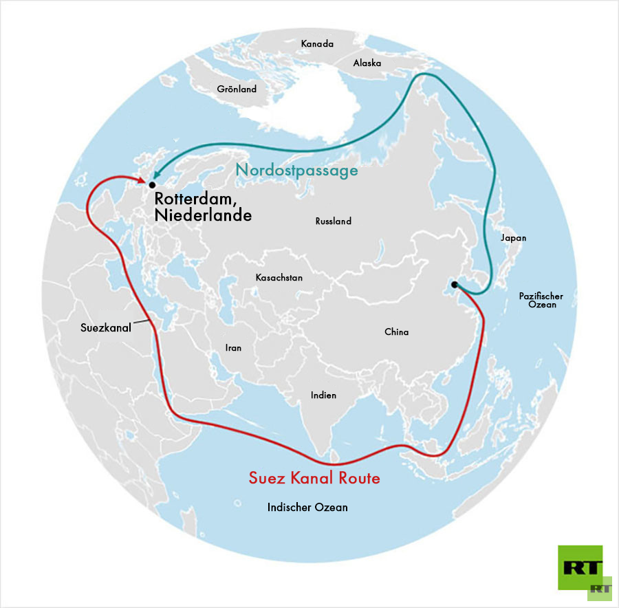 Russland investiert vier Milliarden US-Dollar in Bau arktischen Hafens für Nordostpassage