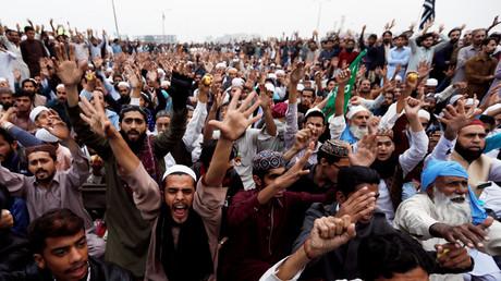 Massenproteste in Islamabad, 1. November 2018