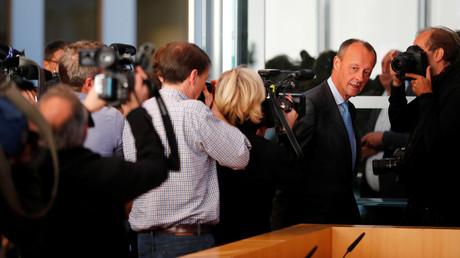 Mit seiner Kandidatur zum CDU-Vorsitz steht Friedrich März wieder im Blickpunkt der Medien.
