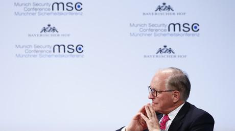 Konferenzpräsident Ischinger nimmt an der Münchner Sicherheitskonferenz in München teil, 17. Februar 2018.