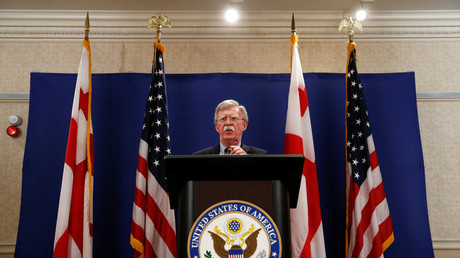 US-Sicherheitsberater John Bolton, Tiflis, Georgien, 26.Oktober 2018