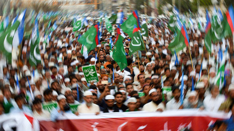 Proteste nach Aufhebung der Todesstrafe gegen die wegen Blasphemie verurteilte Christin Asia Bibi in Pakistan