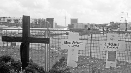 Erinnerung an Opfer der Berliner Mauer