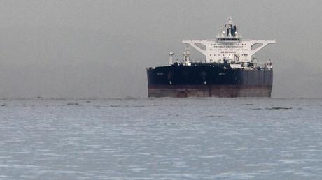Der unter maltesischer Flagge stehende iranische Rohölsupertanker