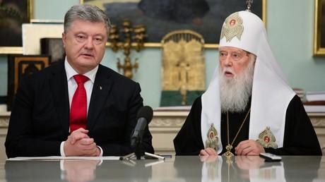 Der ukrainische Präsident Petro Poroschenko und der selbsternannte