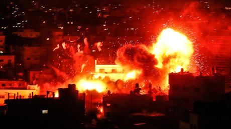 Der von der Hamas im Gazastreifen betriebene Al-Aqsa-Sender wurde von der israelischen Luftwaffe in der Nacht auf den 12. November zerstört.
