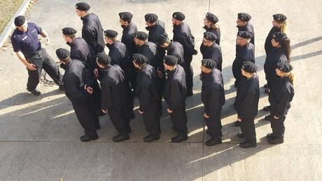 Ausbildung an der Polizeiakademie