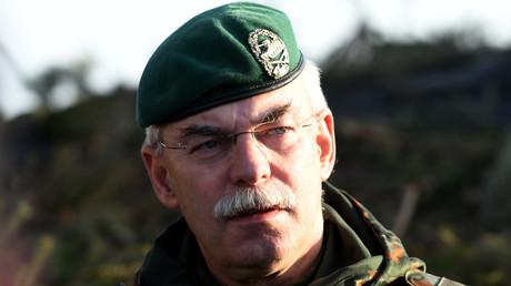 Generalleutnant und Inspekteur des deutschen Heeres, Jörg Vollmer. (Symbolbild)