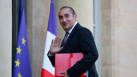 Der Staatssekretär des Innern, Laurent Nunez, trifft am 17. Oktober 2018 zur wöchentlichen Kabinettssitzung im Schloss Elysee in Paris ein.