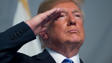 US-Präsident Donald Trump bezeichnete die NATO zuerst als