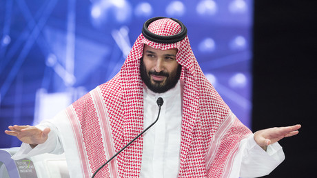 Saudischer Kronprinz Mohammed bin Salman. Quelle: AFP PHOTO / SAUDI ROYAL PALACE / BANDAR AL-JALOUD
