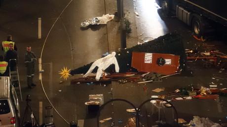Nichts ist geklärt: Szene am Breitscheidplatz nach dem Attentat.