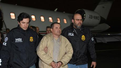 Der mexikanische Drogenbaron Joaquín