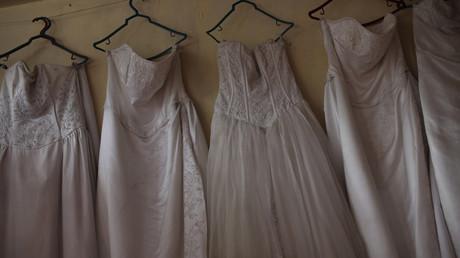 Symbolbild: Hochzeitskleider in Port-au-Prince, Haiti, 10. Mai 2018.