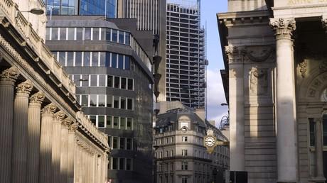 The City of London – neben der New Yorker Wall Street eine der globalen Drehscheiben der globalen Finanzströme.