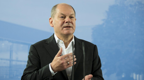 Finanzminister Olaf Scholz, Potsdam, Deutschland, 15. November 2018.