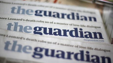 Guardian-Ausgaben an einem Zeitungsstand in London (Symbolfoto)