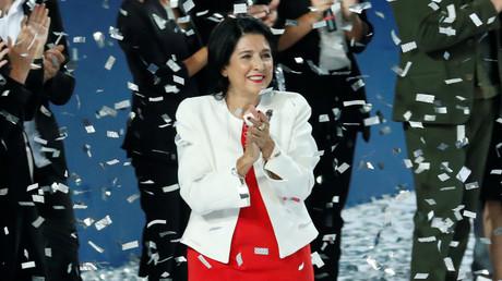 Georgien bekommt eine Präsidentin: Salome Surabischwili gewinnt Stichwahl