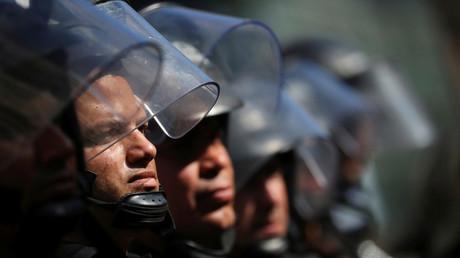 Wie mittlerweile bei G20-Treffen üblich, werden auch in Buenos Aires die Sicherheitskräfte massiv aufgestockt.
