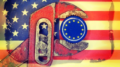 In der Zange – die EU im Handelsstreit mit den USA.