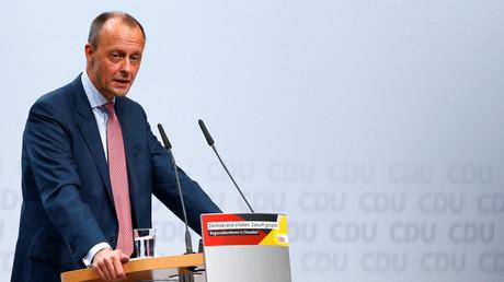 Friedrich Merz während der CDU-Regionalkongress in Düsseldorf am 28. November 2018.
