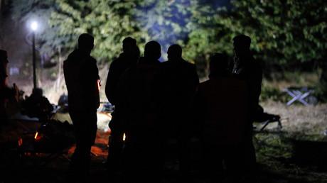 (Archivbild). KSK-Soldaten nehmen am 28. September 2015 an einer Übung in der Nähe von Putgarten teil.