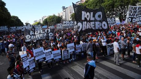 In Buenos Aires kommt es seit Tagen immer wieder zu Protesten gegen den G20-Gipfel - wie hier am vergangenen Mittwoch.