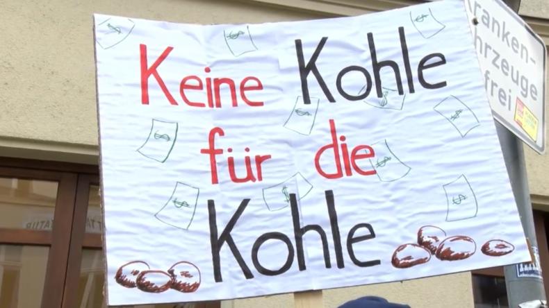 """""""Ende der Kohle für Deutschland!"""" - Tausende demonstrieren landesweit für mehr Klimaschutz"""