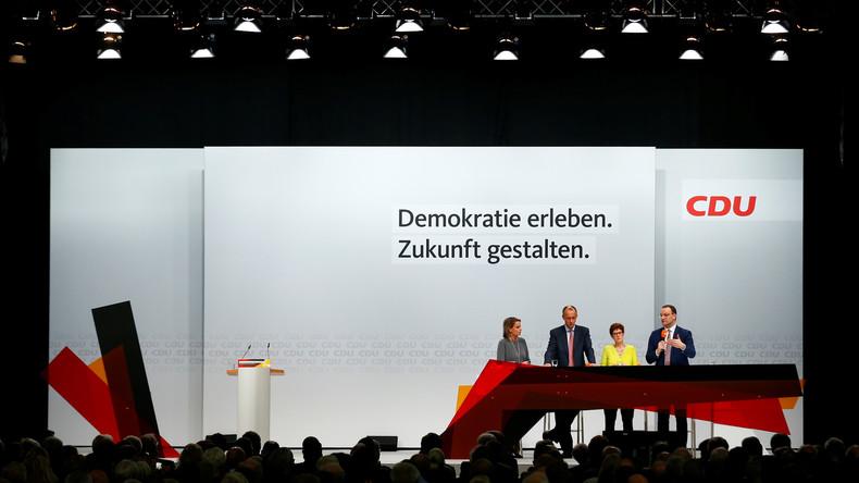 Kampf um CDU-Vorsitz: Kandidaten stellen Nord Stream 2 in Frage