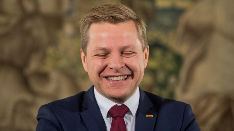 Bürgermeister von Vilnius verwechselt verstorbenen George Bush mit dessen Sohn