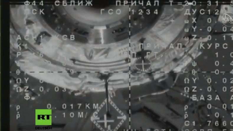 LIVE: ISS – Andock-Manöver der Sojus-Kapsel und Ankunft der Crew