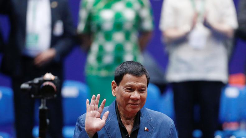 """""""Das ist mein Stil"""": Rodrigo Duterte """"räumt ein"""", dass Kiffen ihn wachhält"""