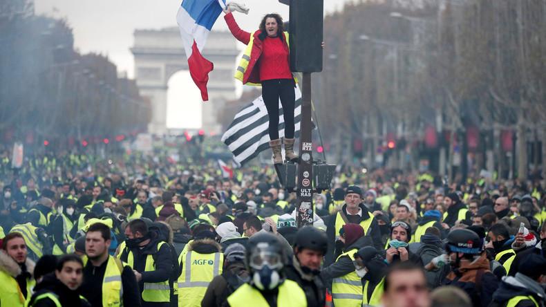"""""""Gelbwesten""""-Protest wirkt: Französische Regierung will Benzinsteuer-Erhöhung aussetzen  (Update)"""