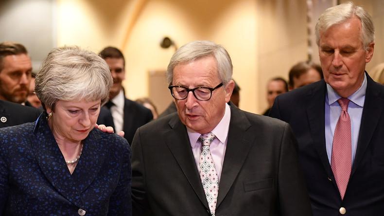 Britischer EU-Abgeordneter: Brexit-Abkommen ist für Großbritannien wie ein neuer Versailler Vertrag
