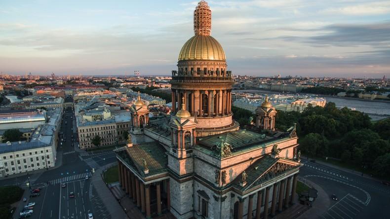 """World Travel Awards: St. Petersburg zum dritten Mal """"bestes städtisches Reiseziel"""" im Bereich Kultur"""