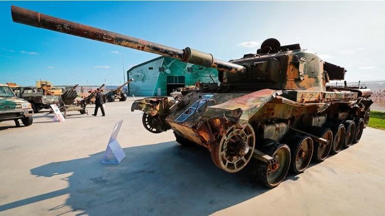 Krieg in Syrien: Welche Waffen hat die russische Armee von den IS-Kämpfern erbeutet?