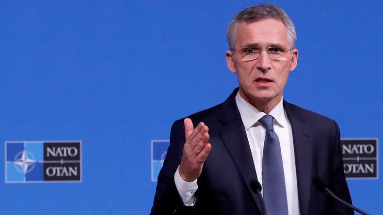 LIVE: Stoltenberg gibt abschließende Pressekonferenz nach Ende des NATO-Außenministertreffens