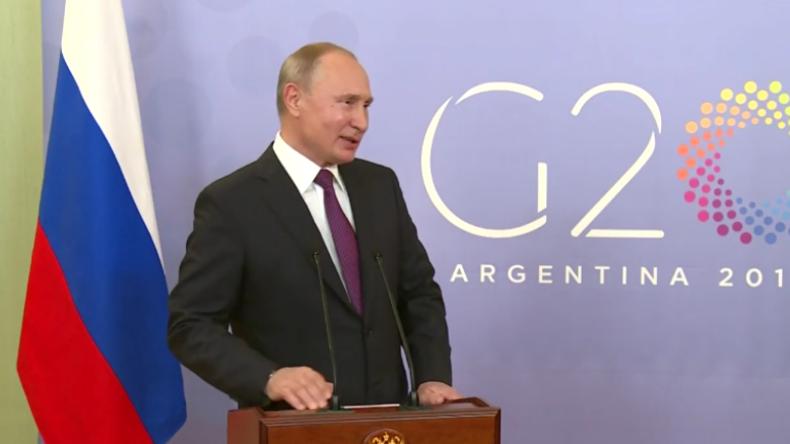 """Russlands Präsident wird in Hollywood-Streifen entführt: Putin scherzt über US-Film """"Hunter Killer"""""""