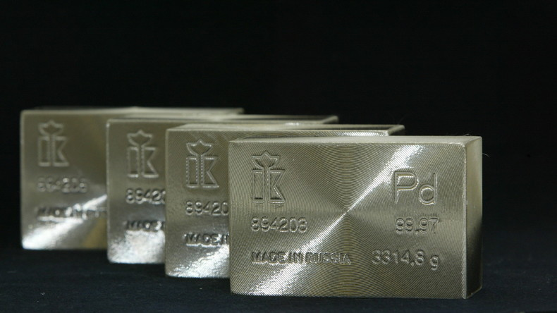Palladium macht Gold den Status als König der Metalle streitig