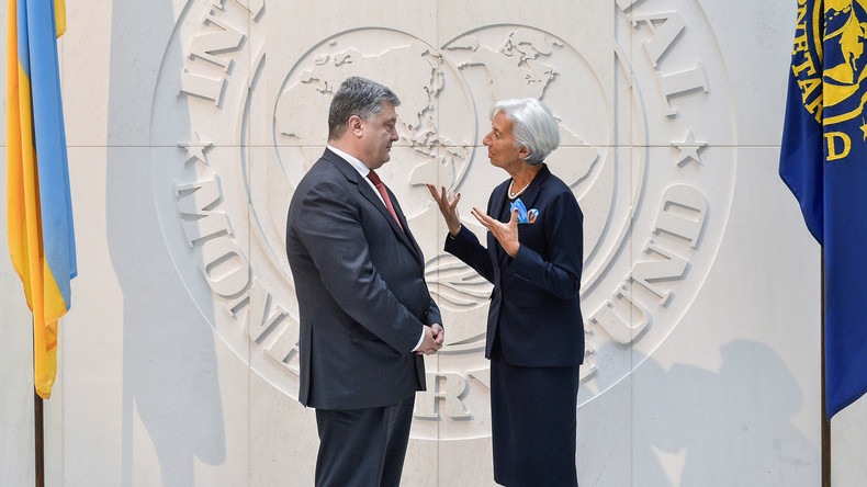 Ukraine verhängt Kriegsrecht und vom Westen gibt es Säcke voll Geld