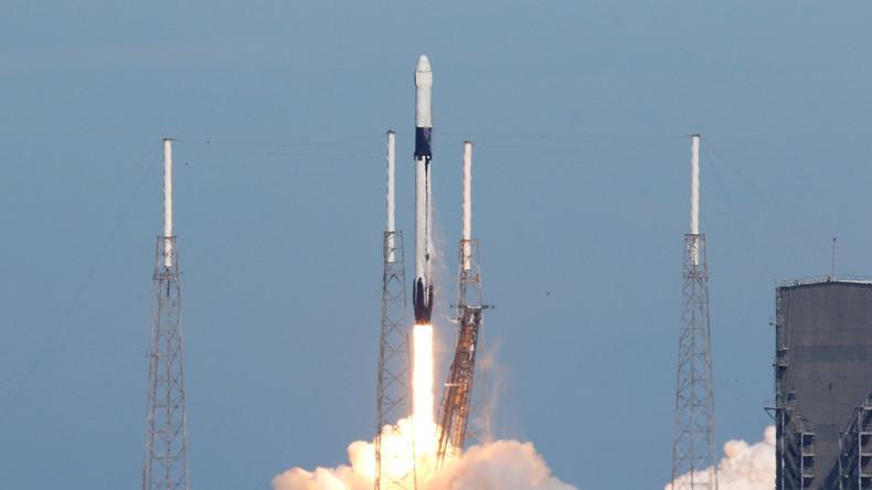 """Unbemannter Raumfrachter """"Dragon"""" zur ISS gestartet"""